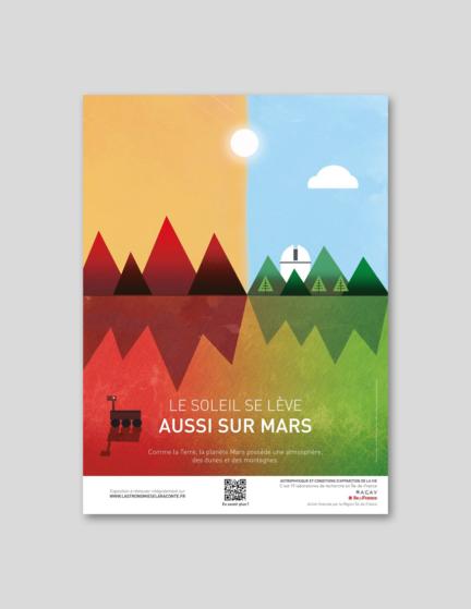 Campagne Observatoire de Paris dans le métro