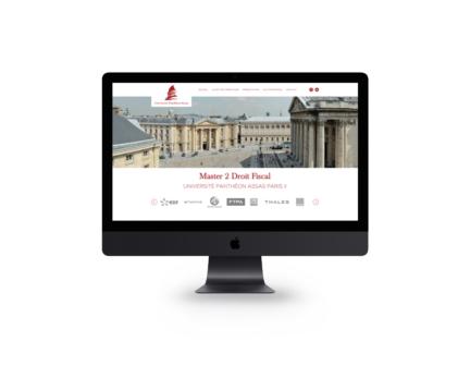 Refonte site internet Université Panthéon – Assas