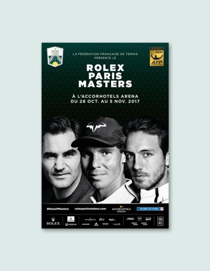 Campagne Rolex Paris Masters 2017