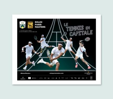 Campagne Rolex Paris Masters 2018